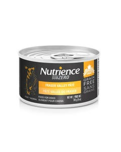 Nutrience Grain Free SubZero Canned Dog Food - Fraser Valley