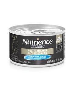 Nutrience Grain Free SubZero Canned Dog Food - Northern Lakes Paté