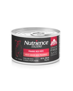 Nutrience Grain Free SubZero Canned Dog Food - Prairie Red