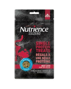 Nutrience Subzero Single Protein Cat Treat - Beef Liver