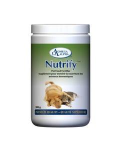 Omega Alpha Nutrify Pet Food Fortifier