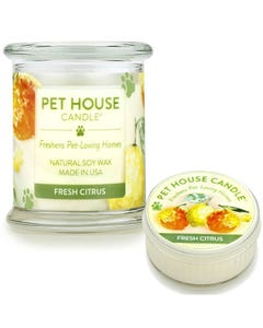 One Fur All Fresh Citrus Candle