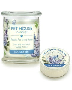One Fur All Lilac Garden Candle