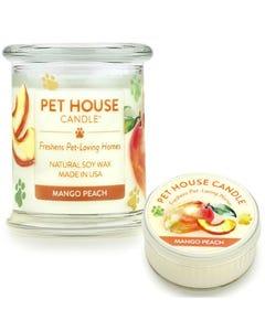 One Fur All Mango Peach Candle