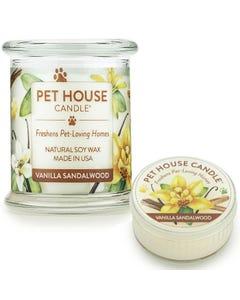 One Fur All Vanilla Sandalwood Candle