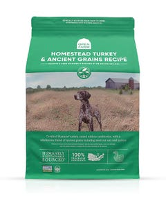 Open Farm Homestead Turkey & Ancient Grains Dry Dog Food