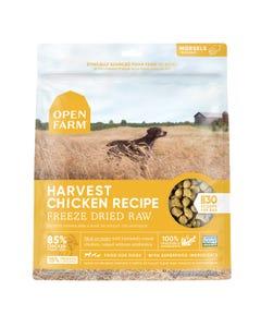 Open Farm Freeze Dried Raw Dog Food - Harvest Chicken Recipe