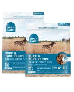 Open Farm Freeze Dried Raw Dog Food - Surf & Turf Recipe