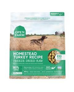 Open Farm Freeze Dried Raw Dog Food - Homestead Turkey Recipe