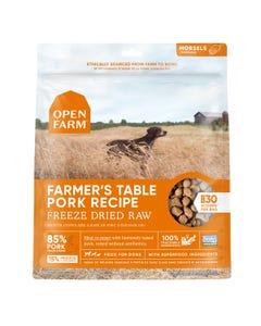 Open Farm Freeze Dried Raw Dog Food - Farmer's Table Pork Recipe