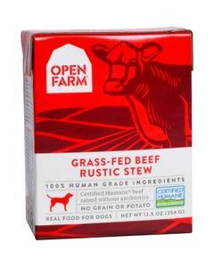 Open Farm Wet Dog Food - Grass-Fed Beef Rustic Stew