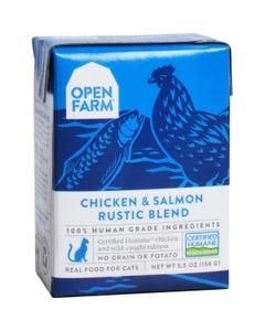 Open Farm Wet Cat Food - Chicken & Salmon Rustic Blend