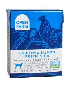 Open Farm Wet Dog Food - Chicken & Salmon Rustic Stew