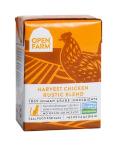 Open Farm Wet Cat Food - Harvest Chicken Rustic Blend