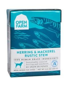 Open Farm Dog Meal Mixer - Herring & Mackerel Rustic Stew
