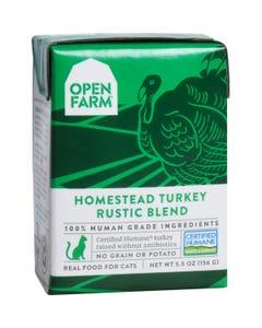 Open Farm Wet Cat Food - Homestead Turkey Rustic Blend