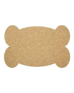 Ore' Pet Big Bone Natural Recycled Rubber Pet Placemat