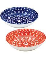 Ore' Pet Speckle & Spot Shallow Bowl