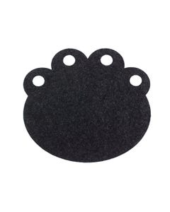 Ore' Pet Paw Recycled Rubber Placemat