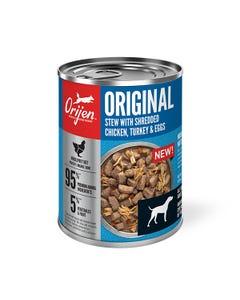 Orijen Original Stew Recipe With Chicken, Turkey & Eggs Wet Dog Food