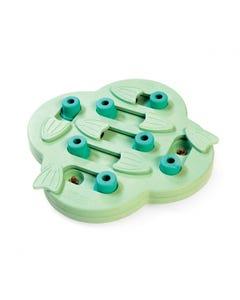Outward Hound Nina Ottosson Green Puppy Hide N' Slide Puzzle Toy