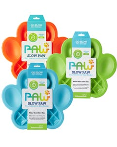 PetDreamHouse Paw Slow Feeder for Dogs