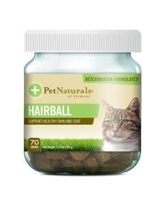 Pet Naturals Hairball Cat Chews - 70 Count