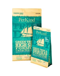 PetKind Green Tripe & High Seas Cat Food