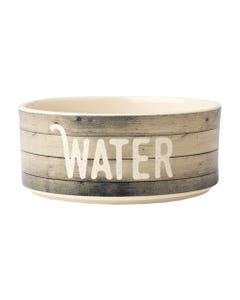 "Petrageous Farm Dog ""WATER"" Bowl"