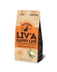 Pets Agree Liv'a Happy Life Wheat Free Pork Liver Treats