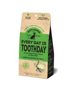 Pets Agree Everyday is Toothday Wheat Free Treats