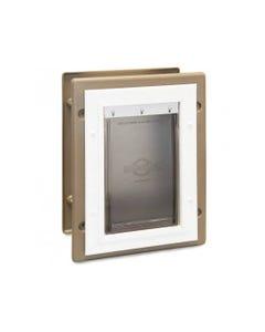 PetSafe Wall Entry Aluminum Pet Door Front