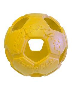 PetSport Turbo Kick Soccer Ball - Yellow