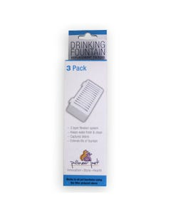Pioneer Pet Drinking Fountain Replacement Filters 3 Pack