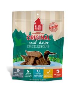 Plato Real Strips Duck Meat Bar Dog Treats