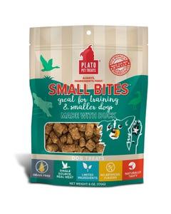 Plato Small Bites Duck Meaty Morsel Dog Treats