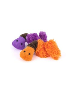P.L.A.Y Feline Frenzy Plush Cat Toy Collection - Wiggly Wormies