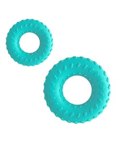 Playology Dual Layer Ring - Peanut Butter Flavour