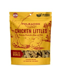 PolkaDog Chicken Littles Bone Shaped Treats