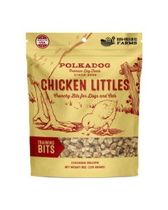 PolkaDog Chicken Littles Training Bits Treats