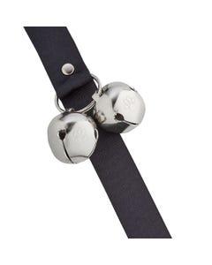 PoochieBells Classic Potty Training Bell - Midnight Black