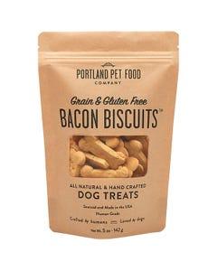 Portland Pet Food Company Grain & Gluten-Free Bacon Biscuit Dog Treats
