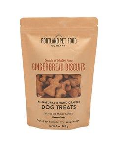 Portland Pet Food Company Grain & Gluten-Free Gingerbread Biscuit Dog Treats