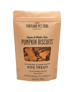 Portland Pet Food Company Grain & Gluten-Free Pumpkin Biscuit Dog Treats