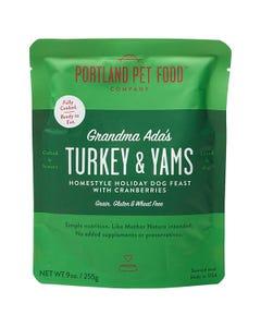 Portland Pet Food Company Grandma Ada's Turkey & Yams Grain & Gluten-Free Holiday Meal Feast