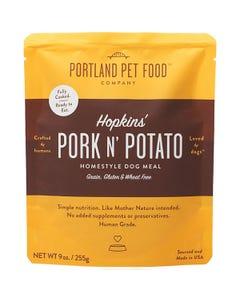 Portland Pet Food Company Hopkins' Pork N' Potato Grain & Gluten-Free Meal Pouch