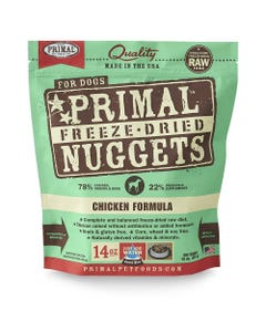 Primal Canine Freeze-Dried Nuggets - Chicken Formula