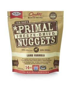 Primal Canine Freeze-Dried Nuggets - Lamb Formula
