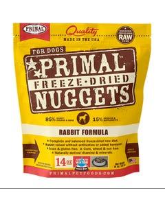 Primal Canine Freeze-Dried Nuggets - Rabbit Formula
