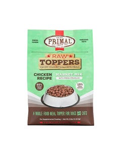 Primal Market Mix Raw Toppers - Chicken